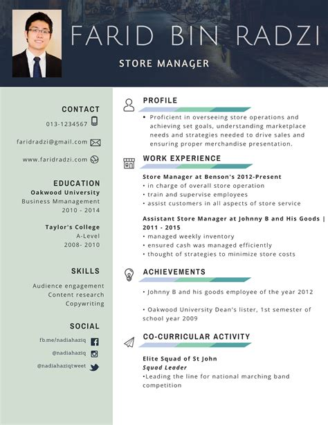 Contoh resume mintak kerja png 1236x1600